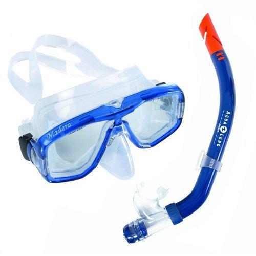 Tauch-Set Madeira Seabreeze von Auqua Lung für Herren, Schnorchel-Set, Taucherbrille mit Schnorchel