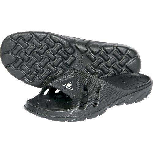 Aquasphere Badepantoletten Asone ergonomisches Fußbett chlorresistent, tolle Passform Badelatschen, Badeslipper Badeschuhe für Damen Herren und Kinder, schwarz