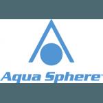 Aqua Sphere Herren Badehose sportlich schick Corfu für Training und Wettkampf, perfekte Passform, chlorresistent, farbecht, navy-weiss