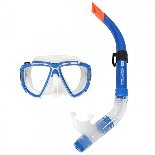 Tauch-Set Aquatics für Erwachsene, Schnorchel-Set, Taucherbrille mit Schnorchel