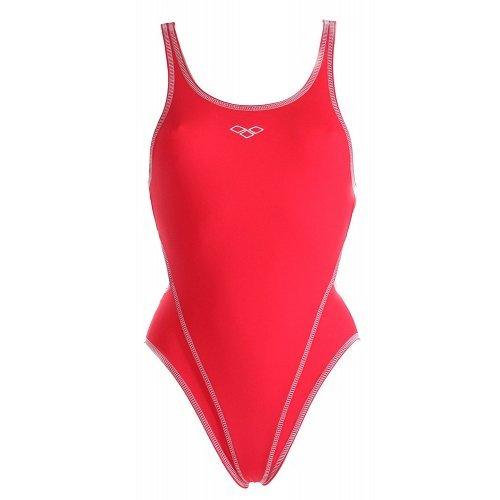 Badeanzug Makina II junior one red-white von Arena Sportbadeanzug Schwimmanzug Wettkampfanzug chlor- und salzwasserresistent lichtecht