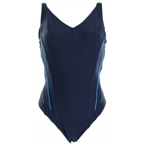 Badeanzug Massir High One Denim Dusty Blue von Arena Wettkampfanzug Sportbadeanzug Schwimmanzug Einteiler Onepiece