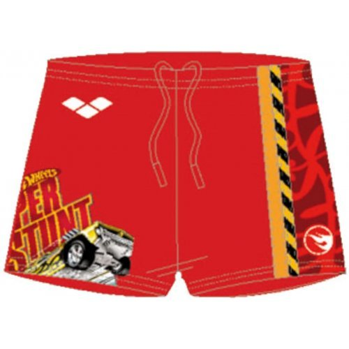 Badehose Klein-Kinder-Aquashort Panty Brooky für Jungen von Arena - Red - 2110845