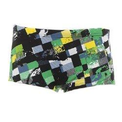 Badehose Aquashort Panty Beon für Jungen von Arena - schwarz-grün