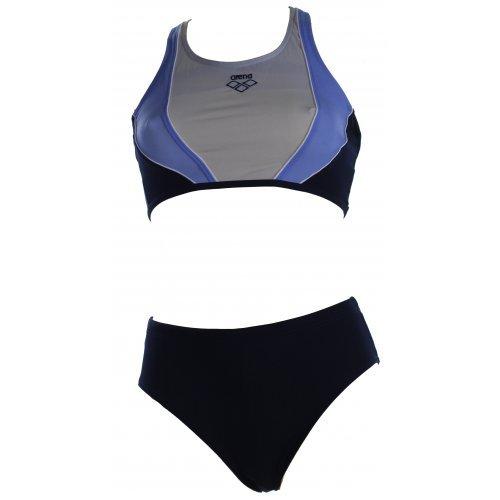 Arena topmodischer Damen Sport Bikini Lova, Blau