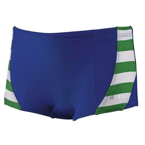 Beco Kinder Jungen Badehose Boxer-Schnitt mit UV-Schutz im Marine-Look