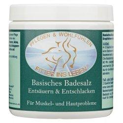 Basisches Basenbad zum Pflegen und Wohlfühlen ohne Farbstoffe - Badesalz von Heilpraktikern empfohlen unterstützt die Entsäuerung - unterstützt die Pflege bei: Leistungsschwäche, Muskelprobleme und bei Stärkung des Bindegewebes - 600g