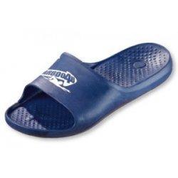 Badepantoletten von Carboo4U  ergonomisches Fußbett chlorresistent, tolle Passform Badeschuhe, Badeslipper, blau
