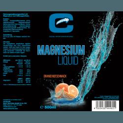 Carboo4U Magnesium Liquid, 500ml Flasche, praktische Dosierkappe, Orangengeschmack, eine Portion liefert 324 mg Magnesium, Aspartam frei, leckerer Geschmack, hochwertige Inhaltsstoffe, frei von potenziellen Allergenen