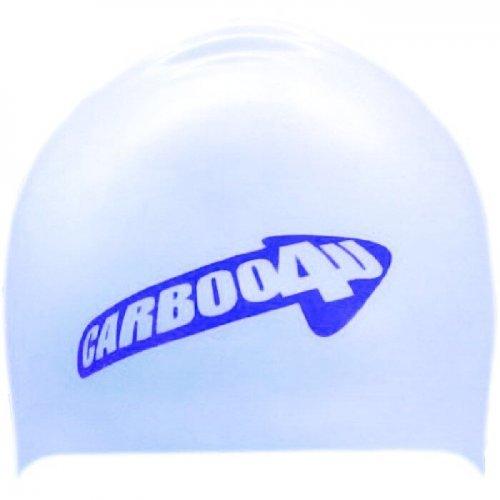Racing Badekappe Carboo4U Special Edition Unisex Silikon in Einheitsgröße wasserdichte Badehaube für den schnellen Sport