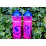 """Carboo4U Sportflasche Radfahren Trinkflasche SONDER EDITION """"Weser-Hammer"""" in Pink, Blau, 750ml"""