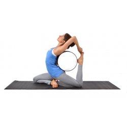 Dittmann Yoga Rad - Yoga Wheel - Yoga-, Fitnees- und Dehnübungen, Chakradehnung, verbessert die Rückenbeweglichkeit