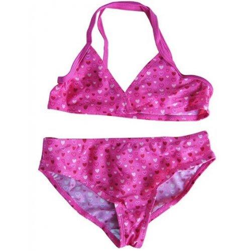 Bikini Girls Heart von Viva für Mädchen, Kinder Schwimmanzug, Pink