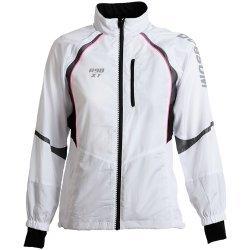 Dobsom - R-90 XT Jacket women, sehr komfortabel für viele Aktivitäten wie Laufsport, Walking, Radsport,  weiß