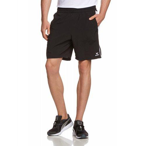 Sport-Shorts Basic von Erima für Tischtennis, Freizeit, Laufen, Ballsport, Schwimmen, mit Innenhose, Kordelzug