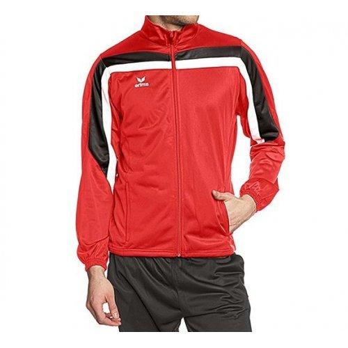 Präsentationsjacke Toronto Sportjacke Trainingsjacke von Erima, Rot-Schwarz