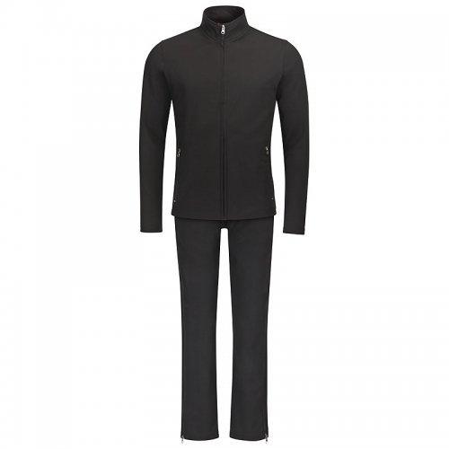 REHA-und Freizeitanzug, Set aus Hose (Kurzgröße) und Jacke ideal für OP, REHA, Klinik oder Physiotherapie