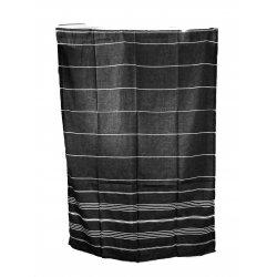 Hamamtuch Saunatuch von Fitter ins Leben® reine Baumwolle geschmeidige Twillbindung saugfähig schnell trocknend farblich sortierte Plaidmuster