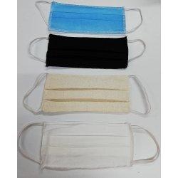 Behelfsmaske von FITTER INS LEBEN, wiederverwendbare Abdeckung von Mund und Nase, Packungsinhalt 3 Stück