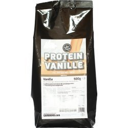 Fitter ins Leben 4K Protein Vanille, 500g Beutel, Eiweiss-Konzentrat zur Herstellung eines Protein-Kaltgetränkes, leckeres Vanille-Aroma, hergestellt in Deutschland