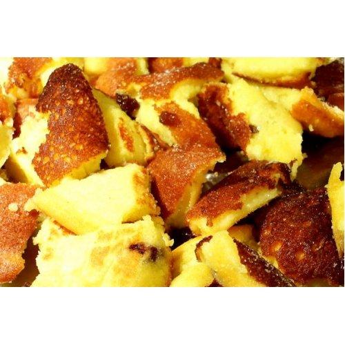 FITTER INS LEBEN Protein Pfannkuchen Waffeln Pancakes Palatschinken Eierkuchen Kaiserschmarrn Backmischung - 1er Pack (1x450g) - wenig Fett - Whey Protein - schnelle Zubereitung - auch für leckere Waffeln geeignet