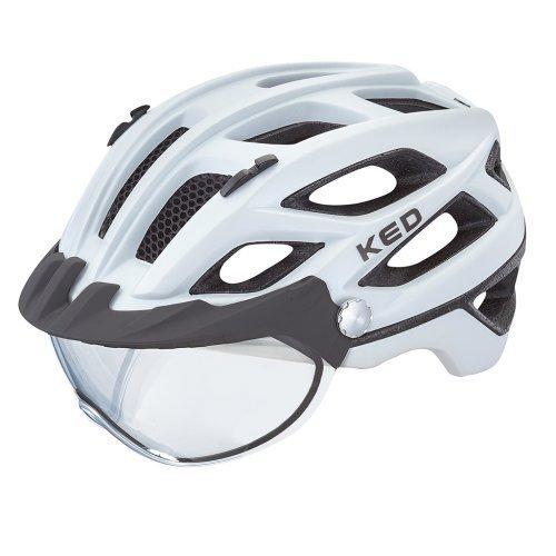 KED Covis Pearl matt. Ideal für Brillenträger - Der neue Brillenträger Helm Covis mit photochromatischem K-Vision Visier.