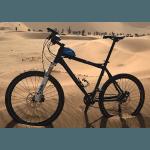 Carboo4U kleine Tasche für das Oberrohr - alles griffbereit - Fahrradtasche  ideal zum Radfahren