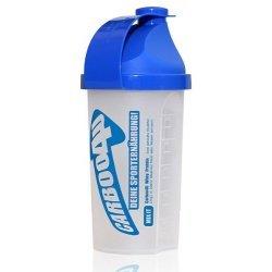 Carboo4U Protein / Eiweiss Shaker, dichter Schraubverschluss, spezieller Siebeinsatz, 100 Prozent lebensmittelecht, leicht auswaschbar, Messskala, 500 ml