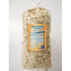 Carboo4U Pops Müsli Whey Protein - ohne Zuckerzusatz - eiweißreiche und kohlenhydratreduzierte Ernährung, Kamutpops mit Honig, Hirsepops, Reispops, Haferpops mit Honig, Quinoapops mit Honig, Molkenprotein (Whey Protein), Milchprotein (Kalziumkaseinat).