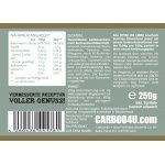 Fitter ins Leben Dunkles Körnerbrot Paleo Low Carb - Eiweißbrot Brotbackmischung - Nur 0,64g/100g Kohlenhydrate!  - perfekt für die LowCarb-Diät - vegan - Ohne Soja -Eiweiß 33g/100g