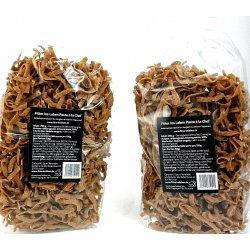 Fitter Ins Leben Pasta à la Chef - kohlenhydratreduzierte Nudeln, proteinreich, speziell entwickelt für LowCarb-Diät und Sportler, Ei- und Sojaeiweiß, (2 x 250 g)