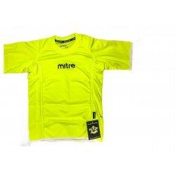 Sportshirt Funktionsshirt Laufshirt von mitre, bequemes T-Shirt für alle Sportarten, atmungsaktiv, schnell trocknend, lime green