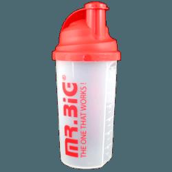 Protein-Shaker, Mixen leicht gemacht - Shake-Herstellung mit Milch o. Wasser, dichter Verschluss, leicht auswaschbar, Messskala, (Maßeinteilung bis 700ml)