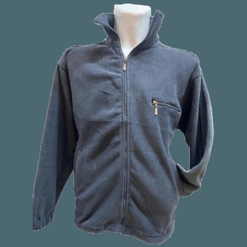 Fleece Jacke Herren - super kuschelig in tollen, frischen Farben, Grau
