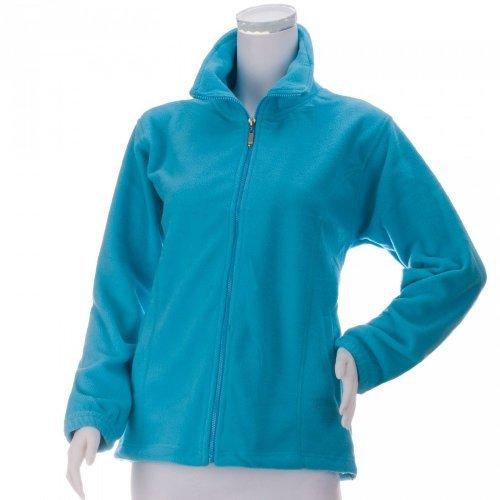 Fleece Jacke Damen - super kuschelig in tollen, frischen Farben, hellblau