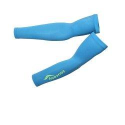 Superleichte Saucony Armlinge - Lightweight Arm Warmers - Unisex - Farbe: türkis - Größe S - 59148