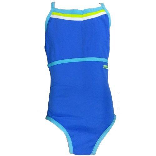 Speedo Mädchen Badeanzug Scorpio perfekt für das tägliche Training sportlicher Einteiler mit schlanker Silhouette, lichtbeständig, chlorresistent, 42-951-7325