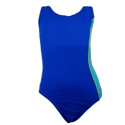 Speedo Mädchen Badeanzug perfekt für das tägliche Training sportlicher Einteiler mit rundem Ausschnitt und schlanker Silhouette, lichtbeständig, chlorresistent,Träger im Rücken mit Quersteg für sicheren Halt, 8-436642285