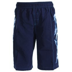 Badehose Schwimmshorts Bermuda Sea Dragon Magic von Speedo chlorresistent, farbecht, navy-hellblau