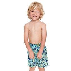Schwimmshorts Deep Sea Jungen Short Badehose Bermuda-Shorts Kinder Zoggs blau, gelb