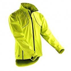Spiro - Unisex Crosslite Trail & Track Jacket, Neon Lime