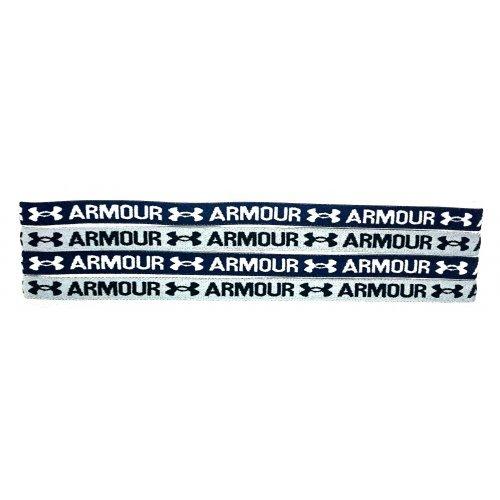 Under Armour Headband Non Slip, Kopfband, Stirnband, Haarband, rutschsicher, unisex, onesize, 4er Pack, kultiges Accessoire für coolen Auftritt