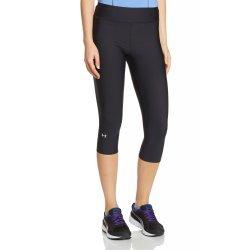 Under Armour Damen Fitness Caprihose und Shorts Heatgear, Black, 1257980