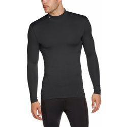 Under Armour Herren Fitness - Langarmshirt Evo CG Compression Long Sleeve Mock, Black 1249978