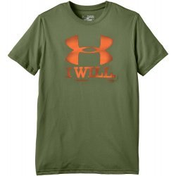 Under Armour Jungen Fitness T-Shirt Contender Short Sleeve T, Kalegreen, 1254173