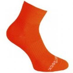 Wrightsock Coolmesh II quarter Socke Neon Orange unisex