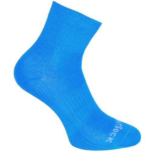 Wrightsock Coolmesh II quarter Socke hellblau unisex