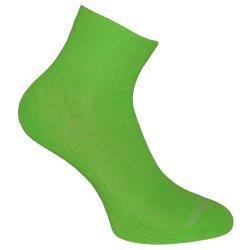 Wrightsock Coolmesh II quarter Socke Neon Grün unisex