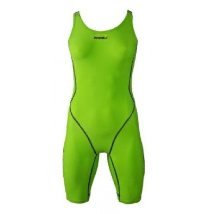 50-70% Rabatt detaillierter Blick bestbewertet billig zaosu-schwimmanzug-z-green-damen-knielang-wettkampf ...