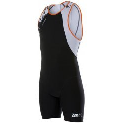 Zerod Power Triathlon uSUIT Wettkampfanzug Armada - Farbe: Black-Orange-White - Unisex